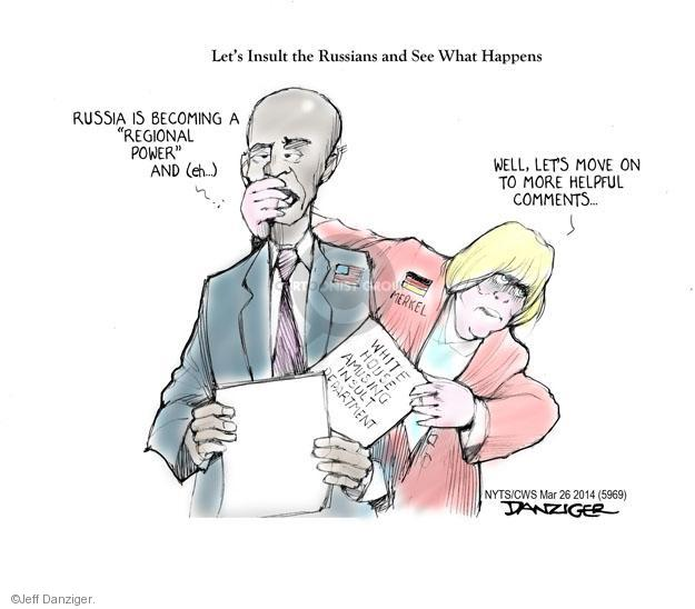 Cartoonist Jeff Danziger  Jeff Danziger's Editorial Cartoons 2014-03-26 American