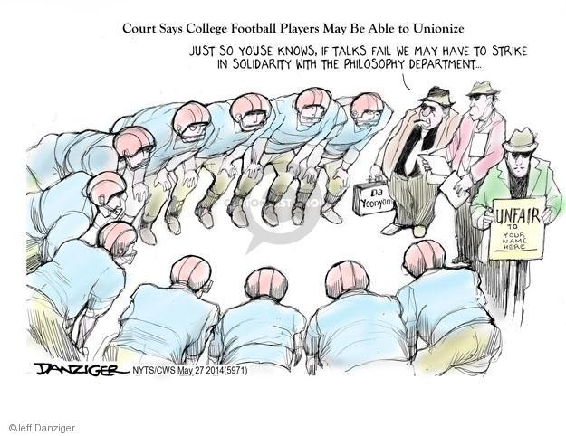 Cartoonist Jeff Danziger  Jeff Danziger's Editorial Cartoons 2014-03-27 college education