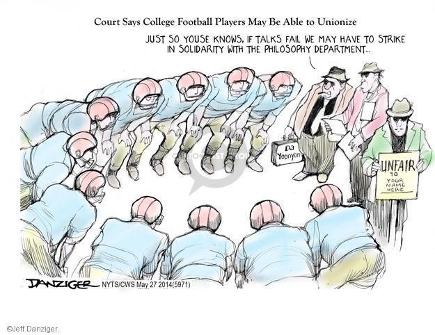 Jeff Danziger  Jeff Danziger's Editorial Cartoons 2014-03-27 employee