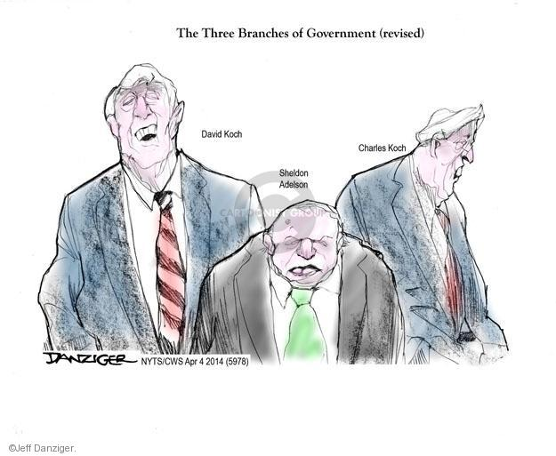 Jeff Danziger  Jeff Danziger's Editorial Cartoons 2014-04-04 Koch brothers