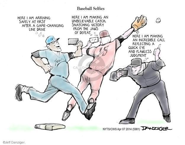 Cartoonist Jeff Danziger  Jeff Danziger's Editorial Cartoons 2014-04-07 victory