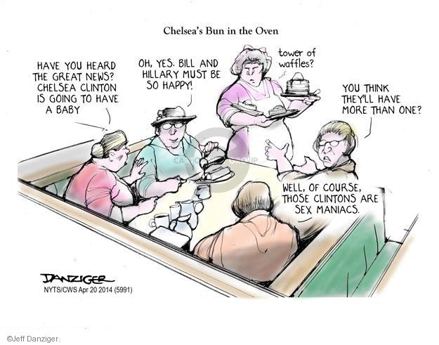 Cartoonist Jeff Danziger  Jeff Danziger's Editorial Cartoons 2014-04-20 baby