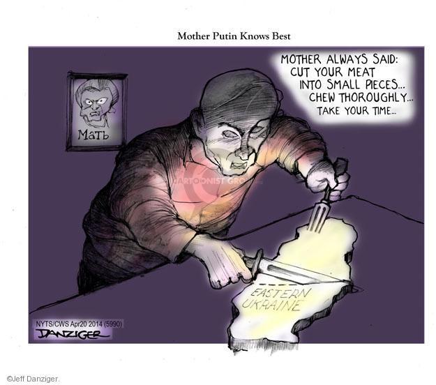 Cartoonist Jeff Danziger  Jeff Danziger's Editorial Cartoons 2014-04-20 small