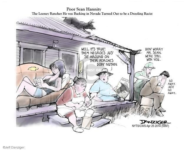 Cartoonist Jeff Danziger  Jeff Danziger's Editorial Cartoons 2014-04-25 fee