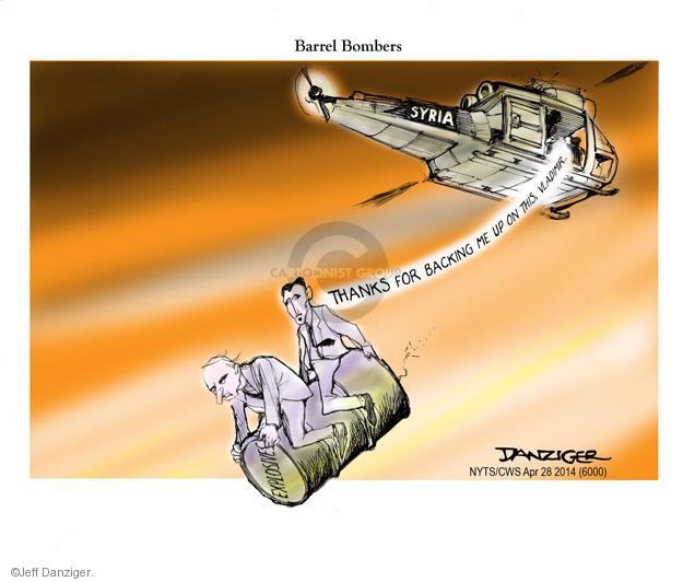Cartoonist Jeff Danziger  Jeff Danziger's Editorial Cartoons 2014-04-28 Russian President