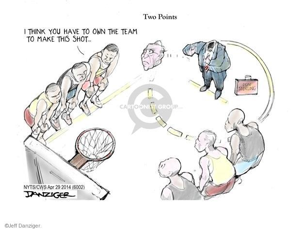 Cartoonist Jeff Danziger  Jeff Danziger's Editorial Cartoons 2014-04-29 throw