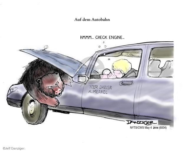 Cartoonist Jeff Danziger  Jeff Danziger's Editorial Cartoons 2014-05-04 international relations