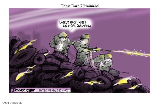 Jeff Danziger  Jeff Danziger's Editorial Cartoons 2014-05-07 expression