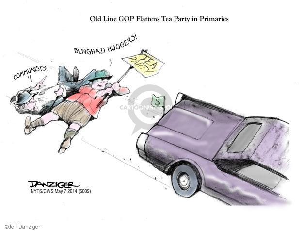 Cartoonist Jeff Danziger  Jeff Danziger's Editorial Cartoons 2014-05-07 conservative