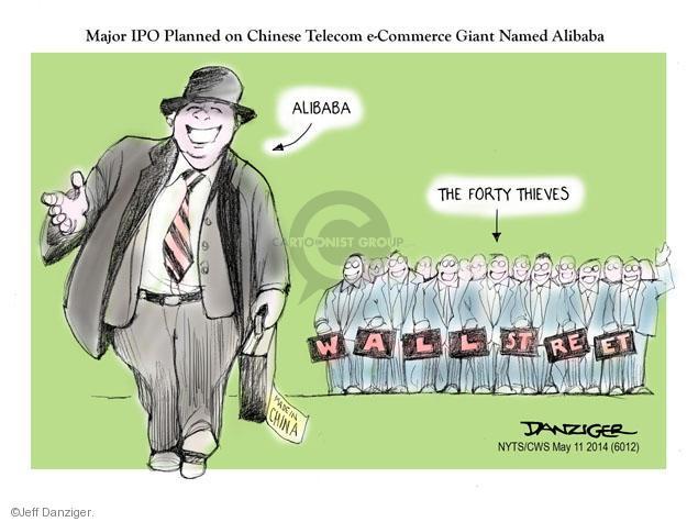 Jeff Danziger  Jeff Danziger's Editorial Cartoons 2014-05-11 commerce