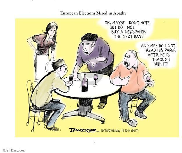 Cartoonist Jeff Danziger  Jeff Danziger's Editorial Cartoons 2014-05-14 do