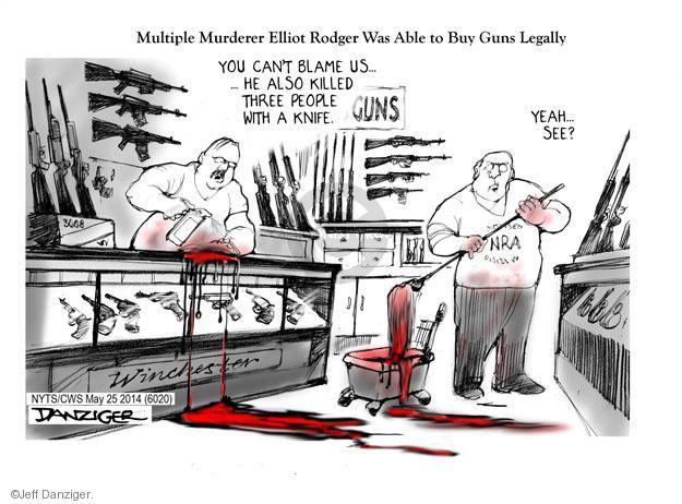 Jeff Danziger  Jeff Danziger's Editorial Cartoons 2014-05-26 shop