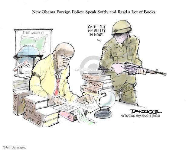 Jeff Danziger  Jeff Danziger's Editorial Cartoons 2014-05-29 military strategy
