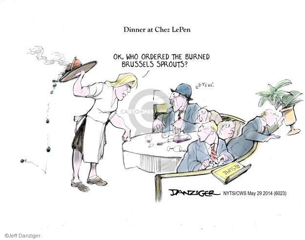 Cartoonist Jeff Danziger  Jeff Danziger's Editorial Cartoons 2014-05-29 right-wing