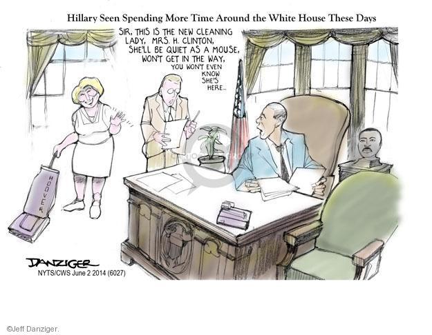 Cartoonist Jeff Danziger  Jeff Danziger's Editorial Cartoons 2014-06-03 Oval Office