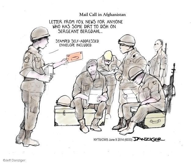 Cartoonist Jeff Danziger  Jeff Danziger's Editorial Cartoons 2014-06-09 letter