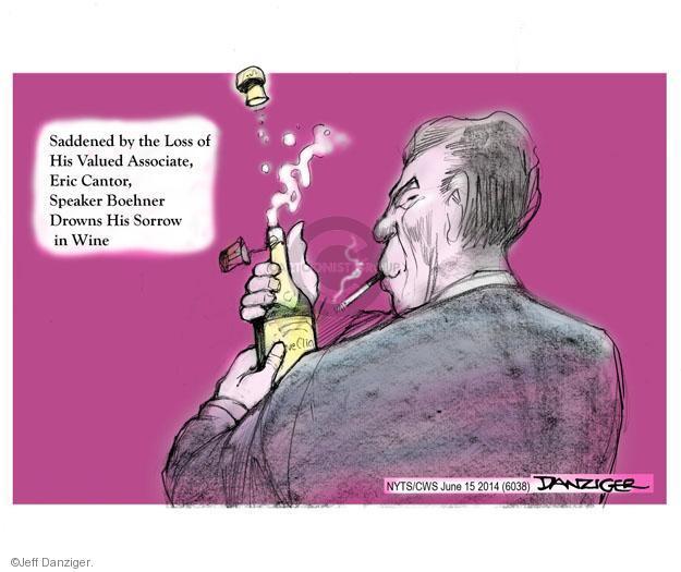 Cartoonist Jeff Danziger  Jeff Danziger's Editorial Cartoons 2014-06-15 Eric Cantor