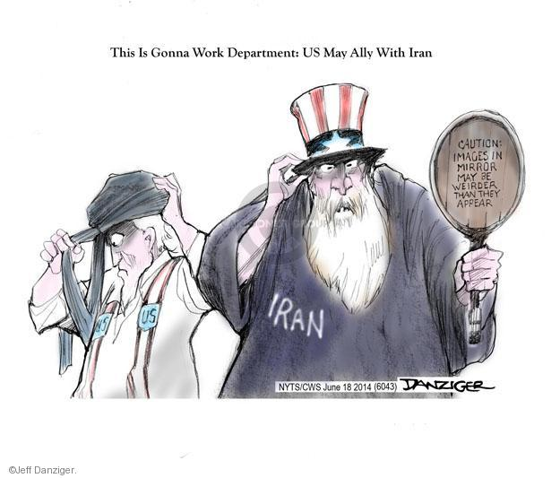 Jeff Danziger  Jeff Danziger's Editorial Cartoons 2014-06-18 Iran