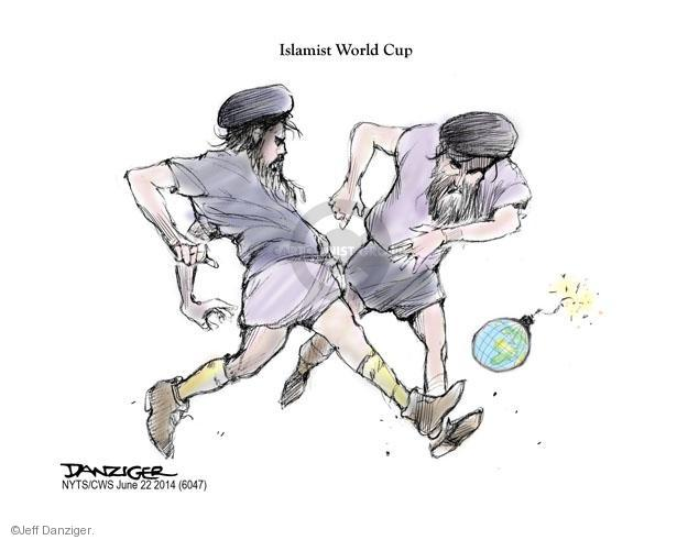 Cartoonist Jeff Danziger  Jeff Danziger's Editorial Cartoons 2014-06-22 World Cup