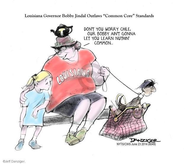 Cartoonist Jeff Danziger  Jeff Danziger's Editorial Cartoons 2014-06-23 educational standards