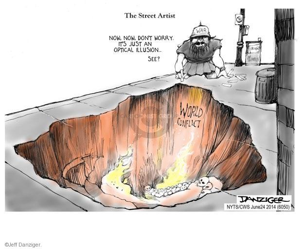 Cartoonist Jeff Danziger  Jeff Danziger's Editorial Cartoons 2014-06-24 international relations