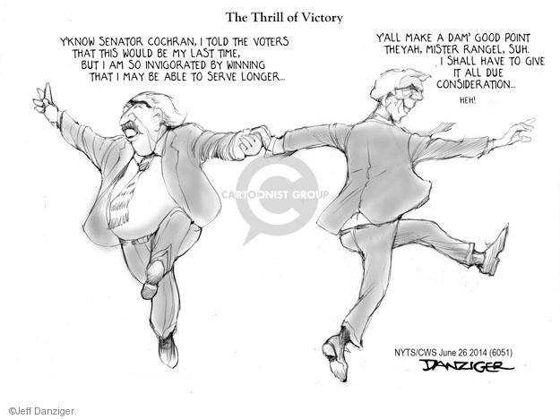 Cartoonist Jeff Danziger  Jeff Danziger's Editorial Cartoons 2014-06-26 candidates republicans
