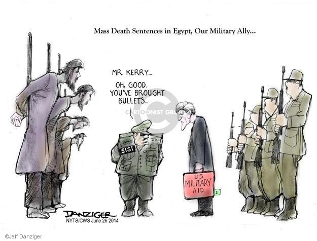 Cartoonist Jeff Danziger  Jeff Danziger's Editorial Cartoons 2014-06-26 international relations