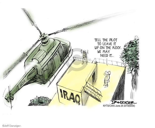 Jeff Danziger  Jeff Danziger's Editorial Cartoons 2014-06-29 military strategy