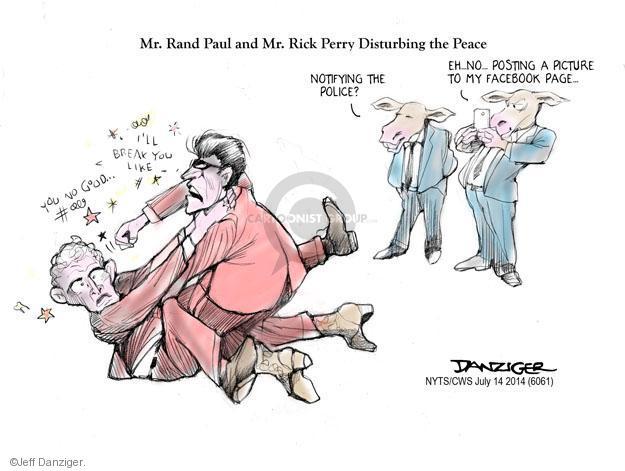 Cartoonist Jeff Danziger  Jeff Danziger's Editorial Cartoons 2014-07-14 right-wing