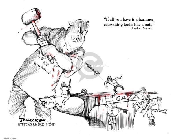 Jeff Danziger  Jeff Danziger's Editorial Cartoons 2014-06-20 mind