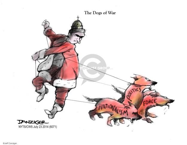 Cartoonist Jeff Danziger  Jeff Danziger's Editorial Cartoons 2014-07-23 rebel