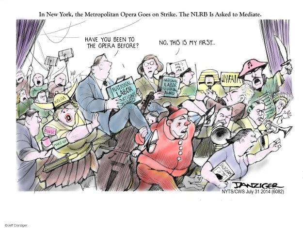 Jeff Danziger  Jeff Danziger's Editorial Cartoons 2014-07-31 employee