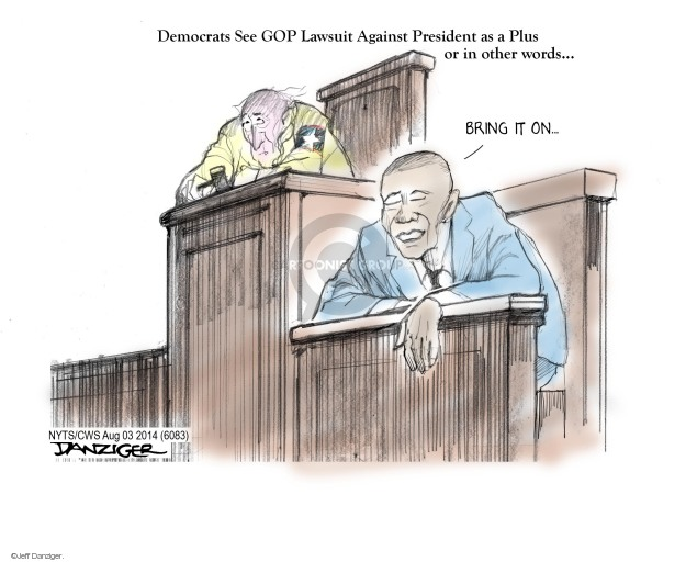 Jeff Danziger  Jeff Danziger's Editorial Cartoons 2014-08-03 executive branch