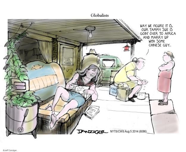 Cartoonist Jeff Danziger  Jeff Danziger's Editorial Cartoons 2014-08-05 African