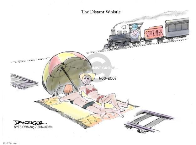 Cartoonist Jeff Danziger  Jeff Danziger's Editorial Cartoons 2014-08-07 vacation