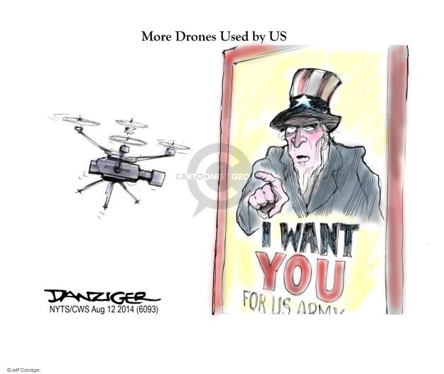Jeff Danziger  Jeff Danziger's Editorial Cartoons 2014-08-12 armed forces