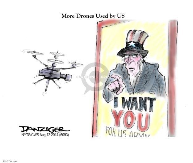 Cartoonist Jeff Danziger  Jeff Danziger's Editorial Cartoons 2014-08-12 Air Force