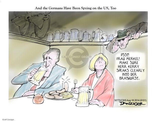 Cartoonist Jeff Danziger  Jeff Danziger's Editorial Cartoons 2014-08-18 make