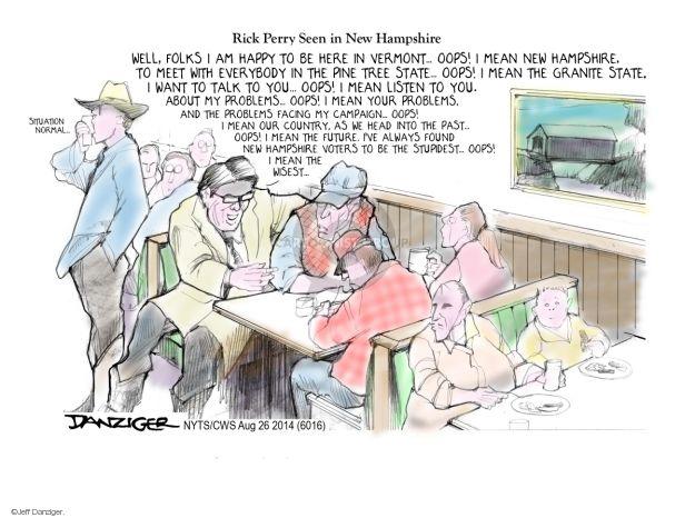Jeff Danziger  Jeff Danziger's Editorial Cartoons 2014-08-26 Vermont