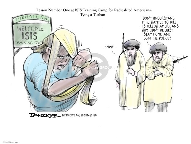 Cartoonist Jeff Danziger  Jeff Danziger's Editorial Cartoons 2014-08-28 international law