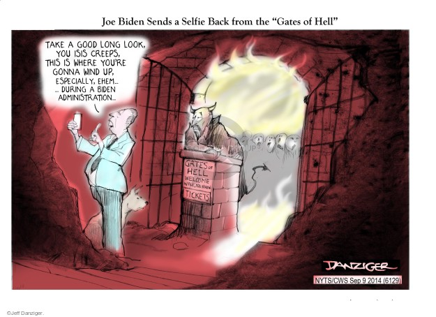Jeff Danziger  Jeff Danziger's Editorial Cartoons 2014-09-07 Joe Biden