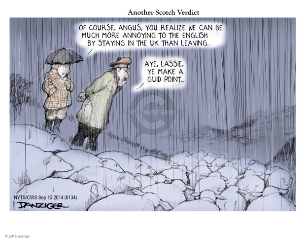 Jeff Danziger  Jeff Danziger's Editorial Cartoons 2014-09-10 English