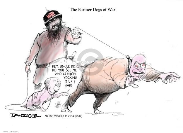 Cartoonist Jeff Danziger  Jeff Danziger's Editorial Cartoons 2014-09-11 do