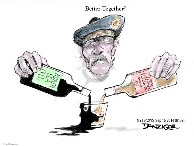 Cartoonist Jeff Danziger  Jeff Danziger's Editorial Cartoons 2014-09-16 independence