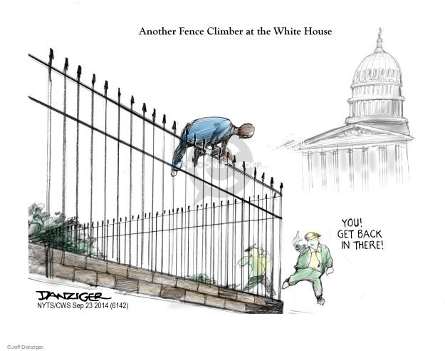 Cartoonist Jeff Danziger  Jeff Danziger's Editorial Cartoons 2014-09-23 fence