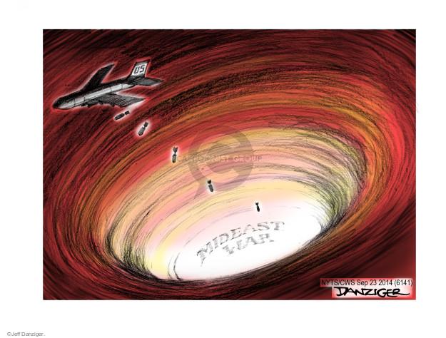 Jeff Danziger  Jeff Danziger's Editorial Cartoons 2014-09-23 United States