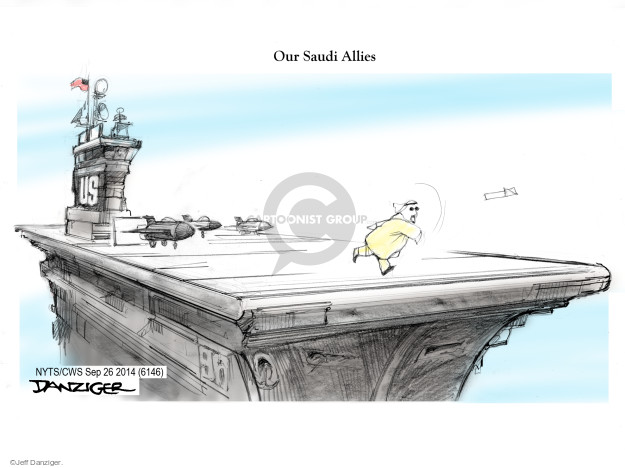 Cartoonist Jeff Danziger  Jeff Danziger's Editorial Cartoons 2014-09-26 United States
