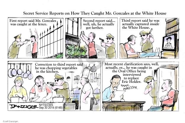 Cartoonist Jeff Danziger  Jeff Danziger's Editorial Cartoons 2014-09-30 general