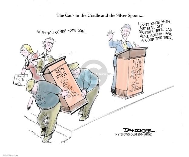 Cartoonist Jeff Danziger  Jeff Danziger's Editorial Cartoons 2014-10-06 Rand