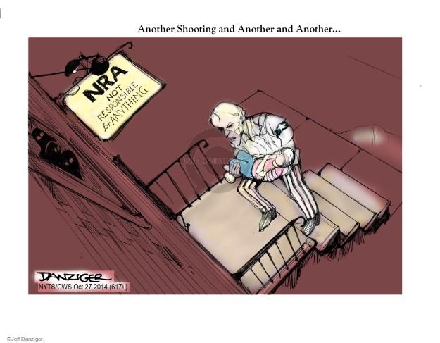 Cartoonist Jeff Danziger  Jeff Danziger's Editorial Cartoons 2014-10-27 school shooting